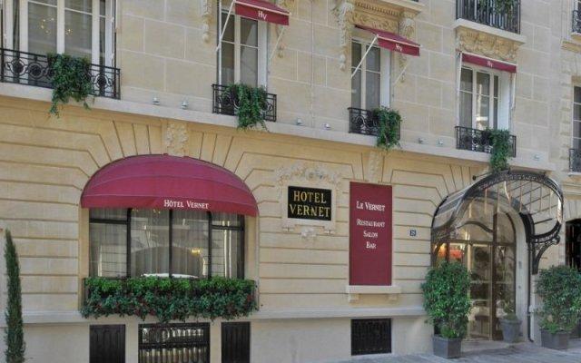 Hotel Vernet - Paris Champs Elysées вид на фасад