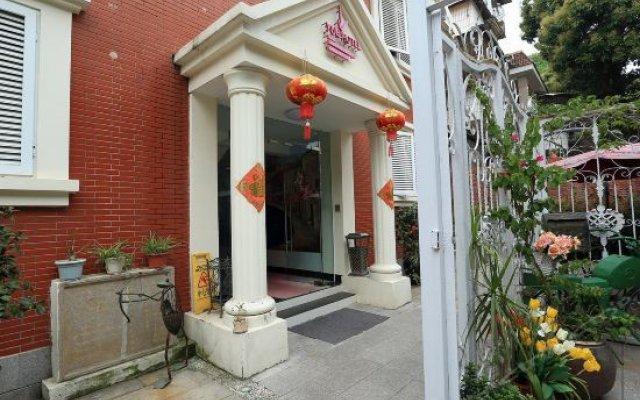 Отель Xiamen Gulangyu Yue Qing Guang Hotel Китай, Сямынь - отзывы, цены и фото номеров - забронировать отель Xiamen Gulangyu Yue Qing Guang Hotel онлайн вид на фасад