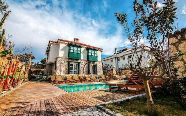 Boreas Butik Hotel Турция, Чешме - отзывы, цены и фото номеров - забронировать отель Boreas Butik Hotel - Adults Only онлайн вид на фасад