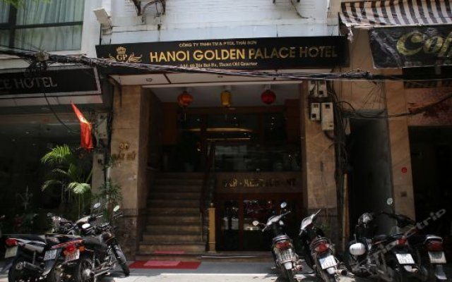 Golden Palace Hotel вид на фасад