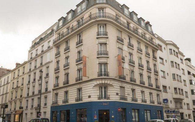 Отель Hôtel Boris V. by Happyculture вид на фасад