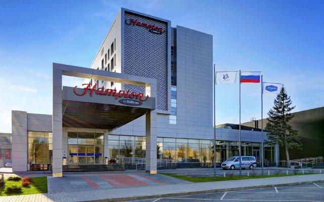 Гостиница Hampton by Hilton Волгоград Профсоюзная вид на фасад