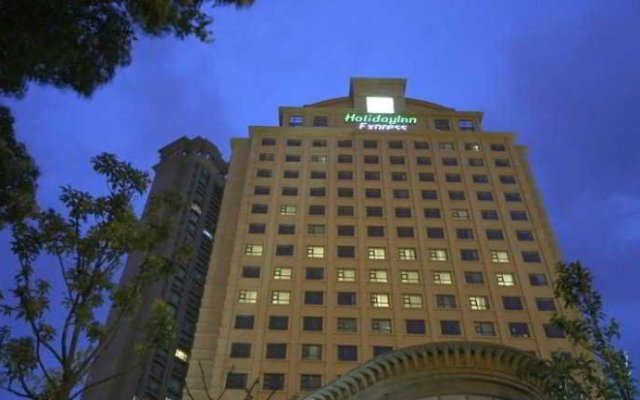 Отель Holiday Inn Express Suzhou Changjiang вид на фасад
