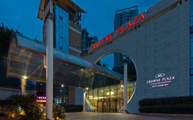 Отель Crowne Plaza Chongqing Riverside вид на фасад