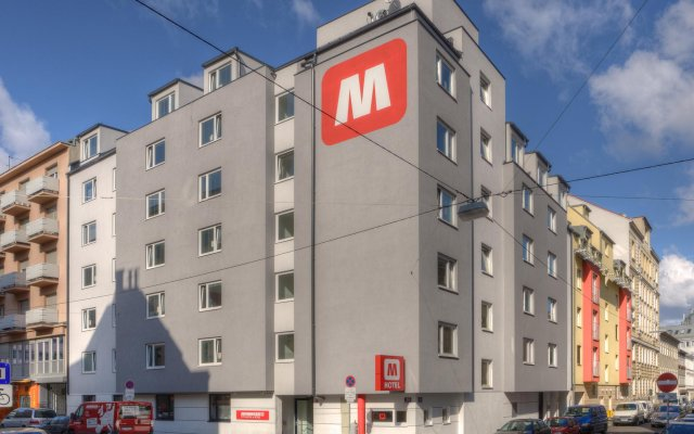 MEININGER Hotel Vienna Central Station вид на фасад