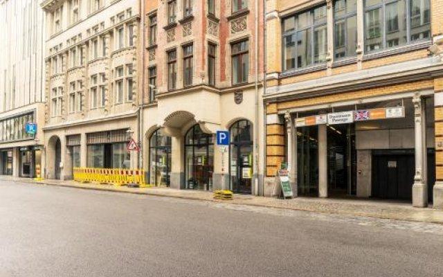 Отель Pension SchlafGut вид на фасад