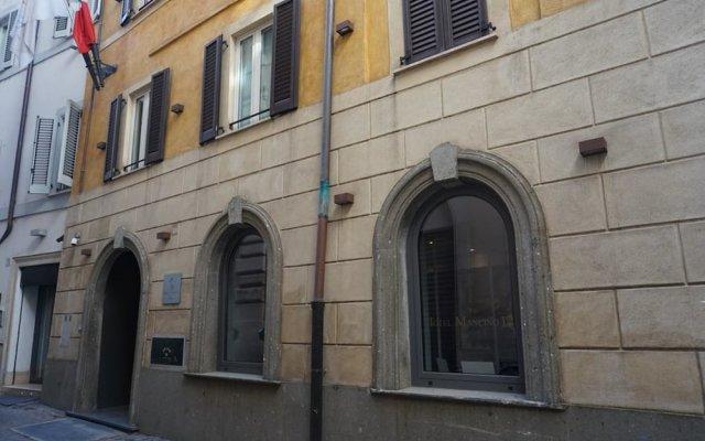 Отель Mancino 12 Рим вид на фасад