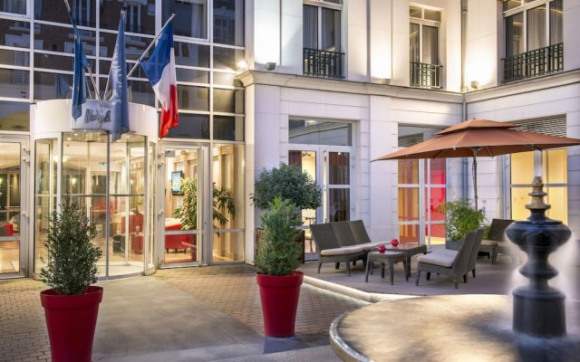 Отель Hôtel Vacances Bleues Villa Modigliani вид на фасад