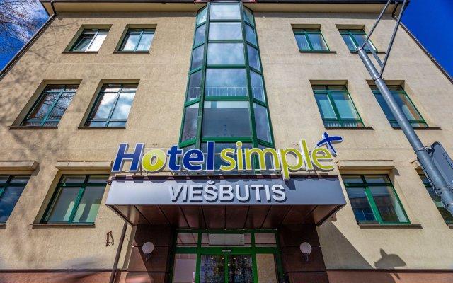 Отель Simple Plus Литва, Вильнюс - отзывы, цены и фото номеров - забронировать отель Simple Plus онлайн вид на фасад