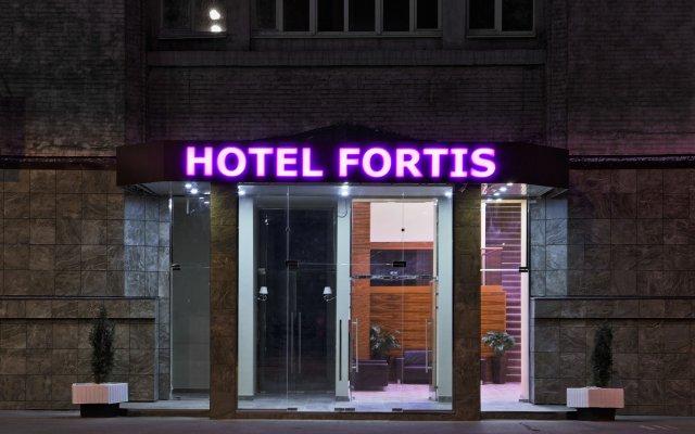 Гостиница Фортис вид на фасад