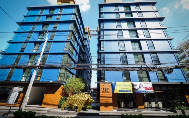 130 Hotel & Residence Bangkok вид на фасад