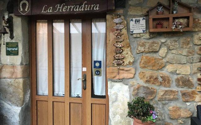 Отель Posada La Herradura вид на фасад