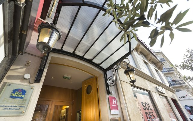 Hotel Royal Saint Michel вид на фасад