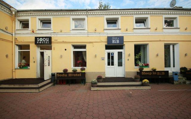 Отель Sleep In BnB Вильнюс вид на фасад