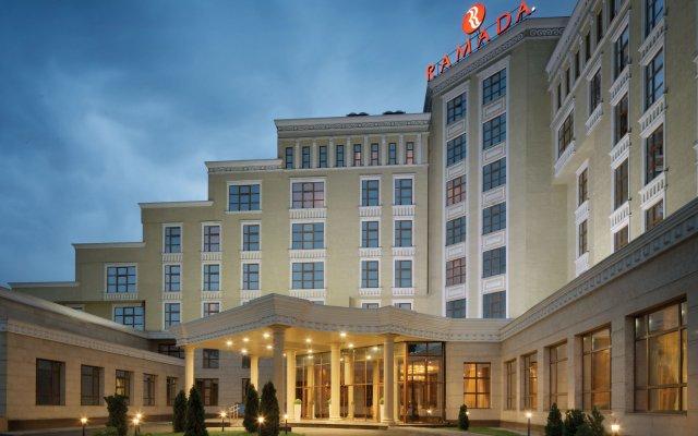 Гостиница Рамада Алматы вид на фасад