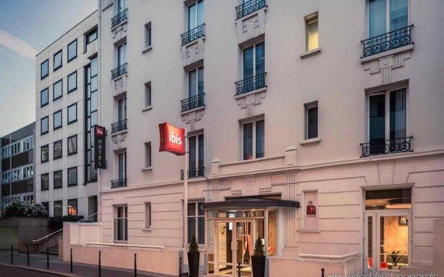 Отель Ibis Paris Boulogne Billancourt вид на фасад