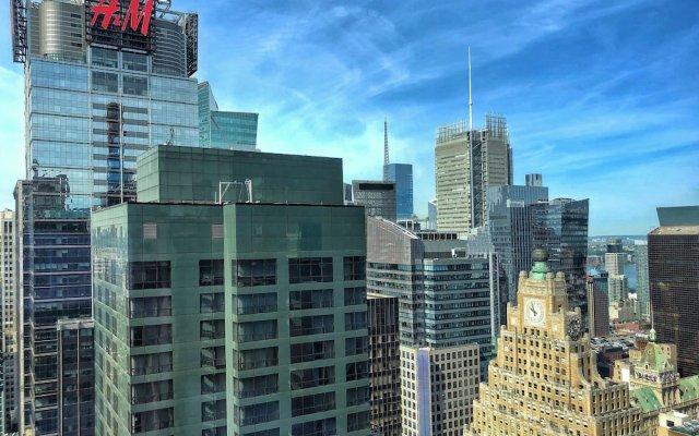 Отель Hyatt Times Square вид на фасад