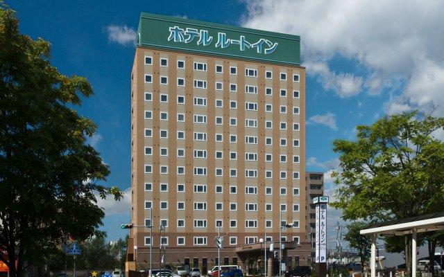 Отель Route-Inn Tomakomai Ekimae Япония, Томакомай - отзывы, цены и фото номеров - забронировать отель Route-Inn Tomakomai Ekimae онлайн вид на фасад