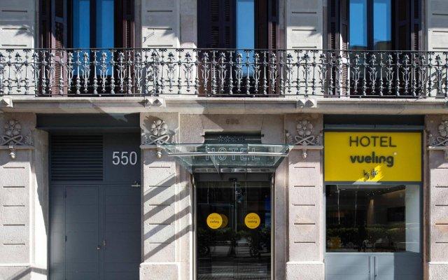 Отель Gran Via BCN вид на фасад