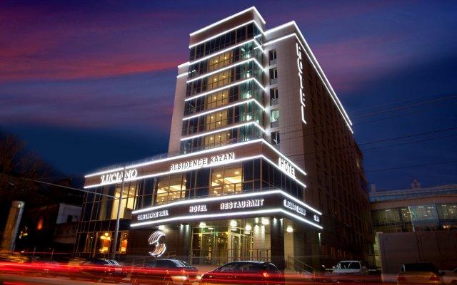 Гостиница Luciano Residence вид на фасад