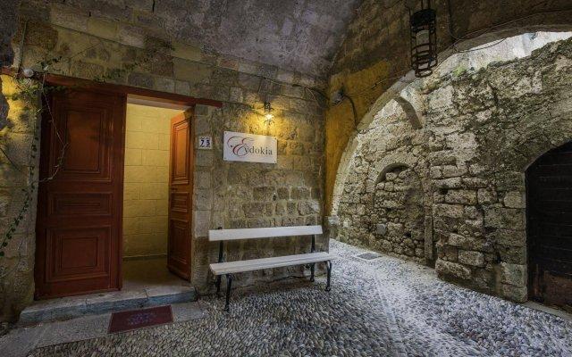 Отель Evdokia Hotel Греция, Родос - отзывы, цены и фото номеров - забронировать отель Evdokia Hotel онлайн вид на фасад
