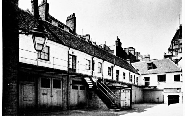 Отель The Stafford London вид на фасад