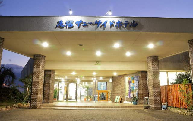 Ashizuri Sunnyside Hotel Тосасимидзу вид на фасад