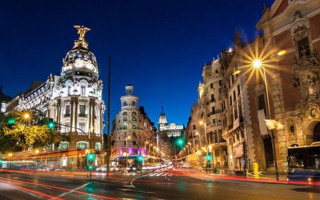 Отель Gran Via Suites The Palmer House Испания, Мадрид - отзывы, цены и фото номеров - забронировать отель Gran Via Suites The Palmer House онлайн вид на фасад