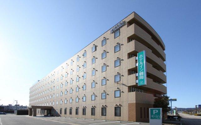 Hotel Inn Tsuruoka Цуруока вид на фасад