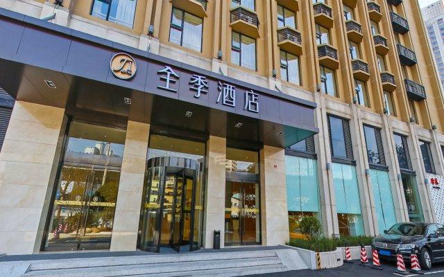 JI Hotel Shanghai Hongqiao West Zhongshan Road вид на фасад