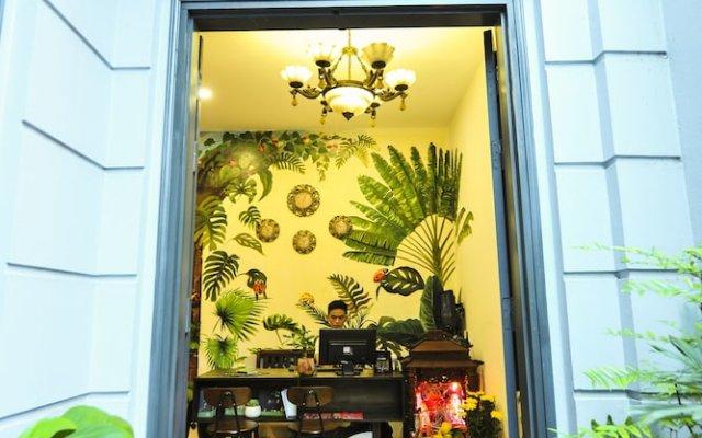 Отель Ladybug Boutique Villa вид на фасад