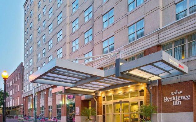 Отель Residence Inn Washington, DC / Dupont Circle вид на фасад