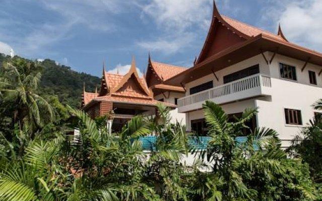 Отель Kata View Villa вид на фасад