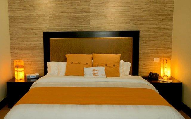 Отель Hausuites Santa Fe Мехико комната для гостей