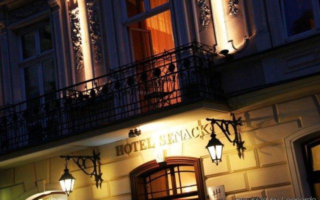 Отель SENACKI Краков вид на фасад
