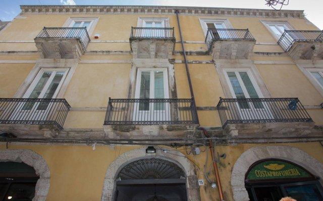 Отель Acropoli Сиракуза вид на фасад