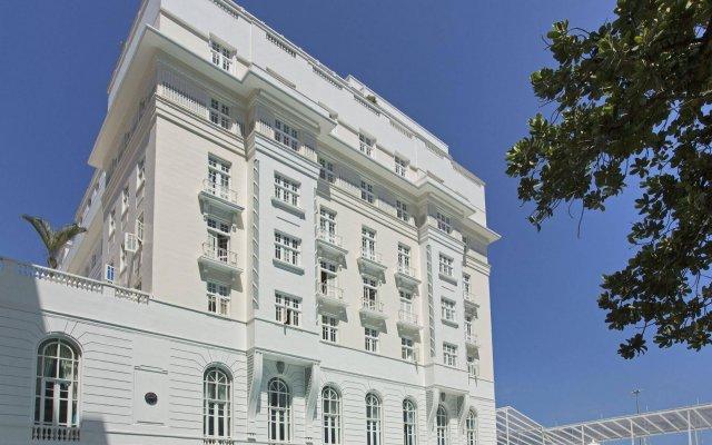 Отель Belmond Copacabana Palace вид на фасад