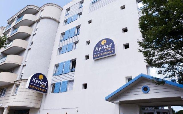 Отель Kyriad Hotel Lyon Centre Croix Rousse Франция, Лион - отзывы, цены и фото номеров - забронировать отель Kyriad Hotel Lyon Centre Croix Rousse онлайн вид на фасад