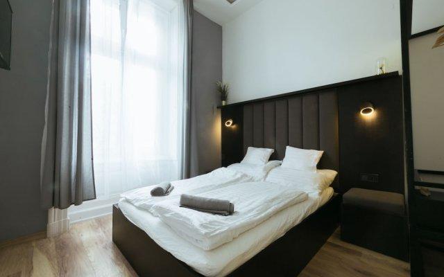 Апартаменты Play Apartment National Museum Будапешт комната для гостей