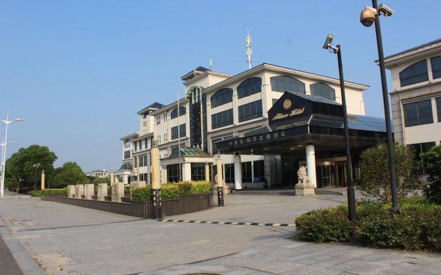 Suzhou Yangcheng Garden Hotel вид на фасад