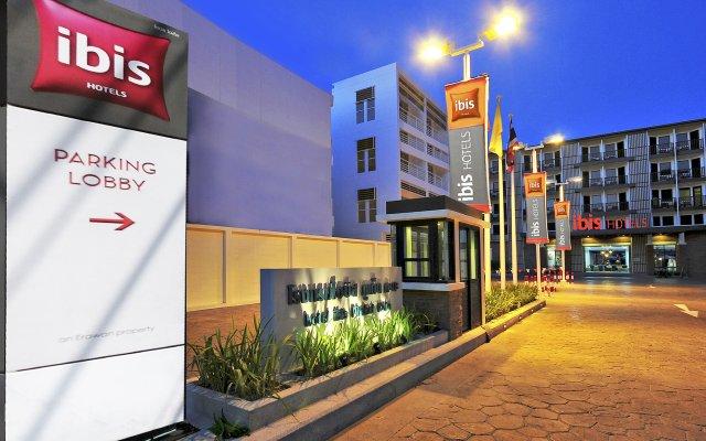 Отель Ibis Kata Пхукет вид на фасад