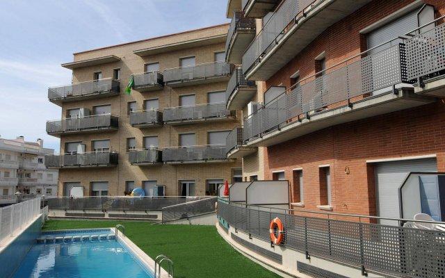 Отель Apartaments AR Espronceda Испания, Бланес - отзывы, цены и фото номеров - забронировать отель Apartaments AR Espronceda онлайн вид на фасад