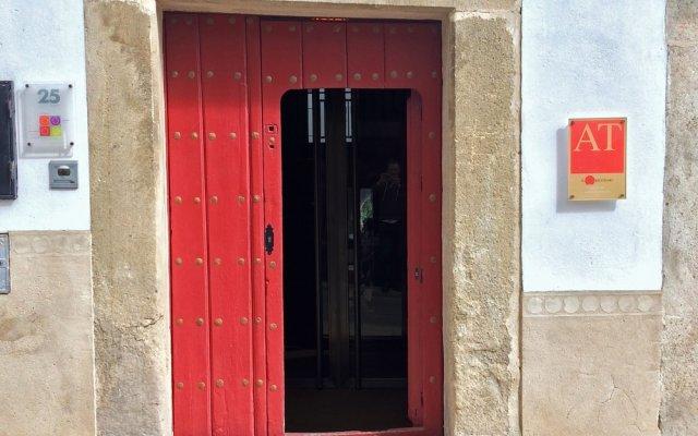 Отель El Baciyelmo Трухильо вид на фасад