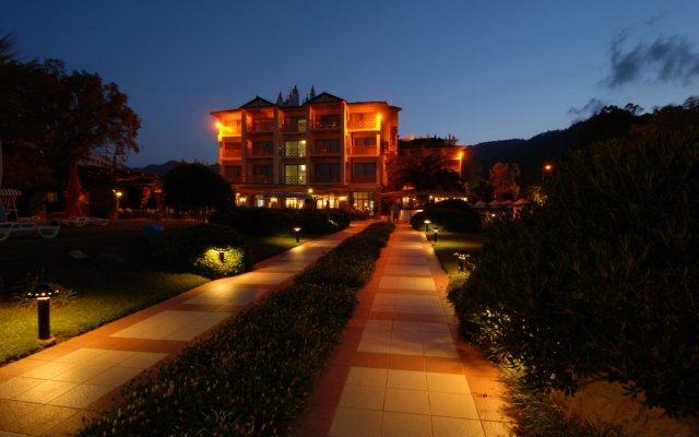 Marti La Perla Hotel Турция, Мармарис - 1 отзыв об отеле, цены и фото номеров - забронировать отель Marti La Perla Hotel - All Inclusive - Adult Only онлайн вид на фасад