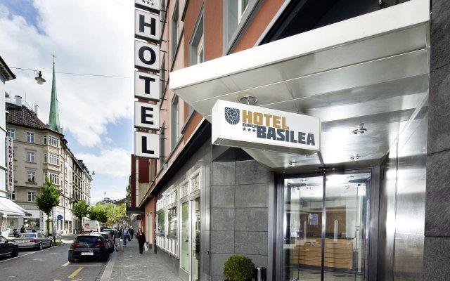 Hotel Basilea Zürich вид на фасад