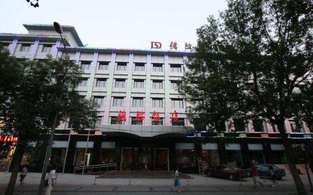 Отель Desheng Hotel Beijing Китай, Пекин - отзывы, цены и фото номеров - забронировать отель Desheng Hotel Beijing онлайн вид на фасад