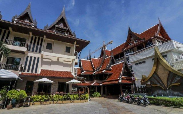 Отель Nipa Resort вид на фасад