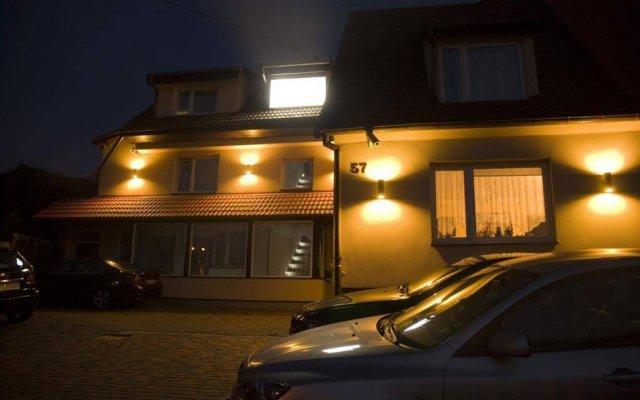 Отель Villa Pallas Польша, Гданьск - отзывы, цены и фото номеров - забронировать отель Villa Pallas онлайн вид на фасад