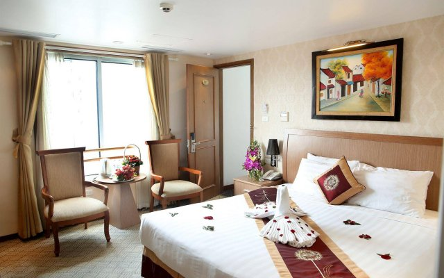 Lenid De Ho Guom Hotel Ханой комната для гостей
