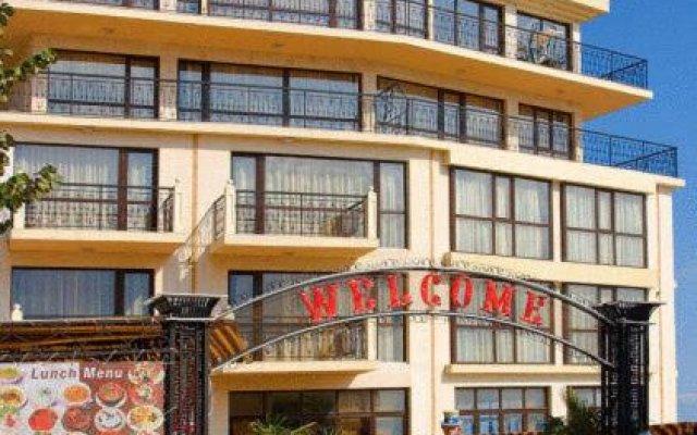 Отель В Американском Отеле Болгария, Поморие - отзывы, цены и фото номеров - забронировать отель В Американском Отеле онлайн вид на фасад